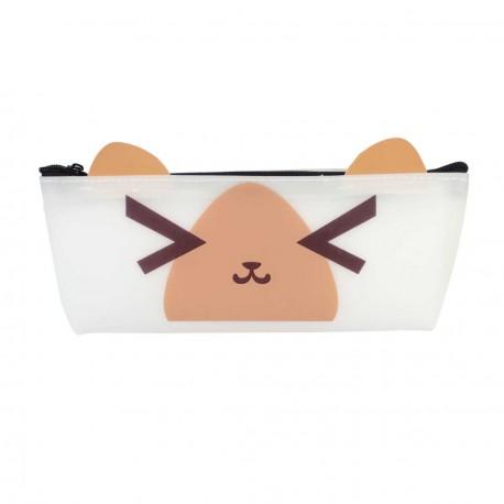 Trousse kawaii emoji oreilles - smiley