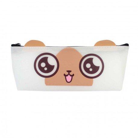 Trousse kawaii emoji oreilles - yeux manga