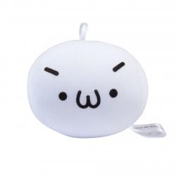 Strap boule mochi anti-stresse kawaii emoji 5 - étonné