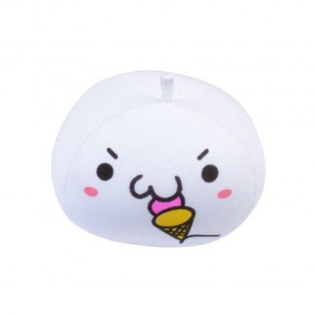 Strap boule mochi anti-stresse kawaii emoji 8 - glace