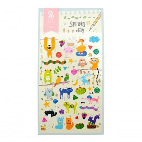 Sticker - Spring day