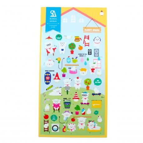 Sticker - Fluffy house