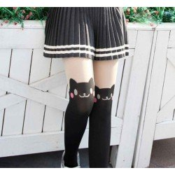 Collant kawaii renard mignon
