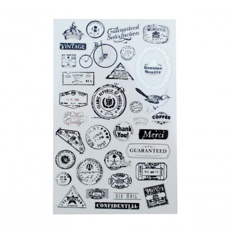 Sticker - Stamp vintage