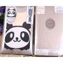 Collant kawaii panda mignon visage blanc
