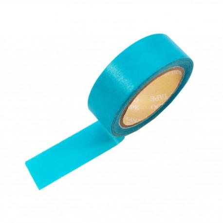 Masking tape couleur bleu paon
