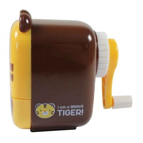 Taille crayons manivelle Tigre