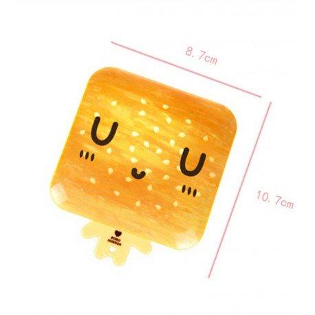Miroir de poche kawaii emoji Pain 1