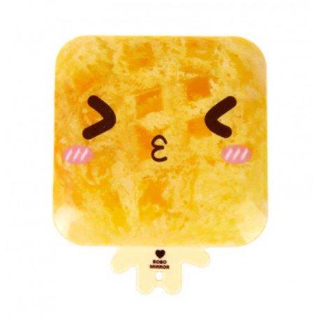 Miroir de poche kawaii emoji Pain 2