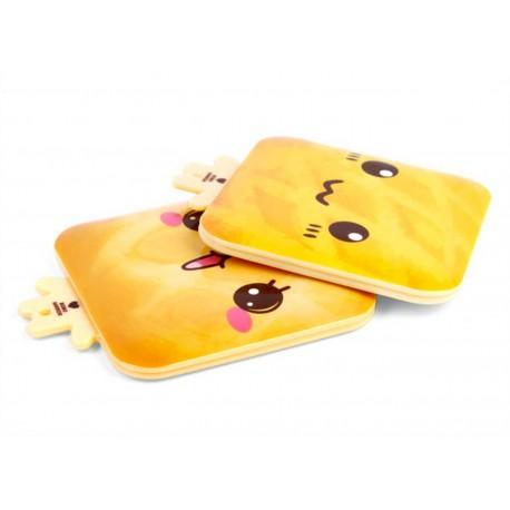 Miroir de poche kawaii emoji Pain 4