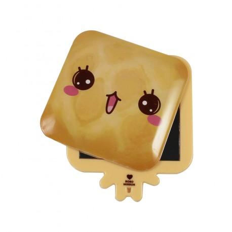 Miroir de poche kawaii emoji Pain 3
