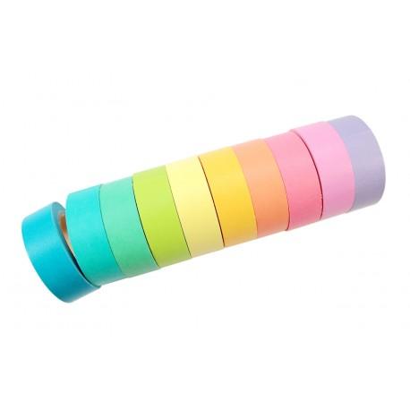 Masking tape couleur pêche