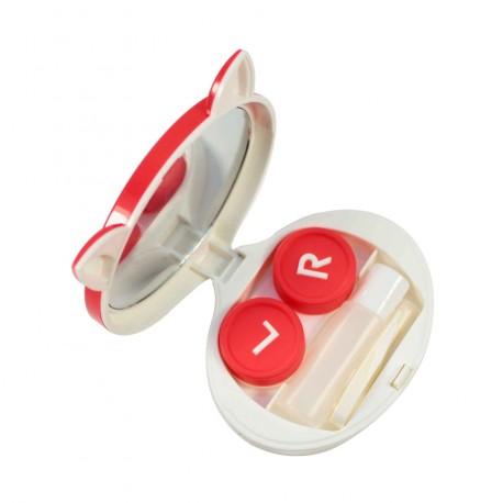 Boite à lentilles de contact Renard rouge