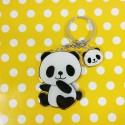 Porte clés Panda assis