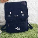 Sac à dos kawaii chat noir
