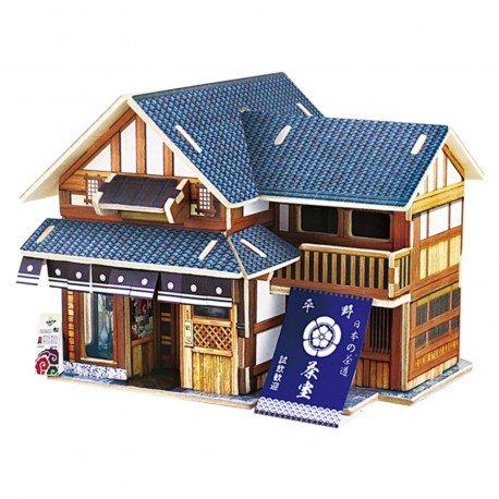 Puzzle 3D en bois - Salon de thé japonais