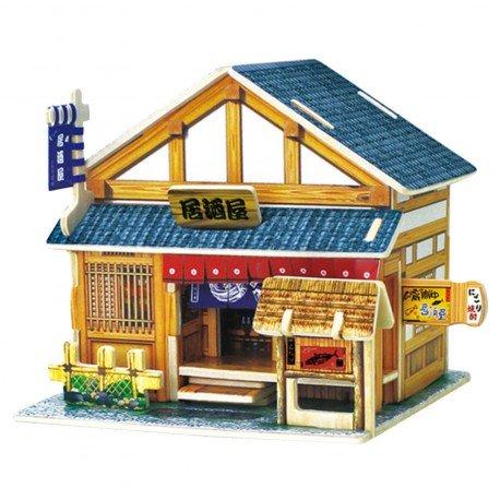 Puzzle 3D en bois - Izakaya