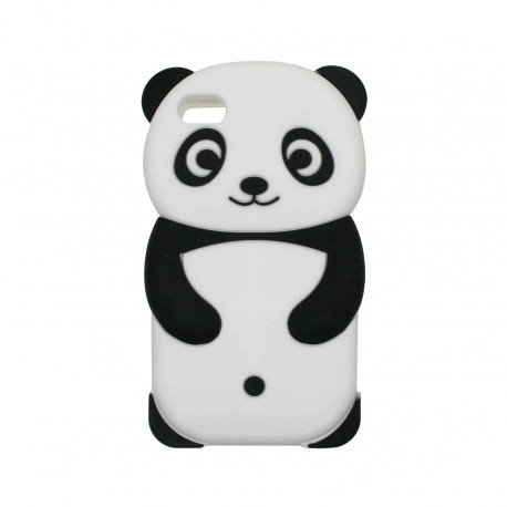 une coque de t l phone pour iphone kawaii panda. Black Bedroom Furniture Sets. Home Design Ideas