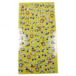 Stickers beaucoup de pandas