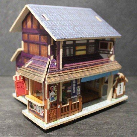 Puzzle 3D en bois - Epicerie