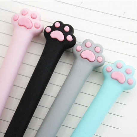 Stylo kawaii patte neko