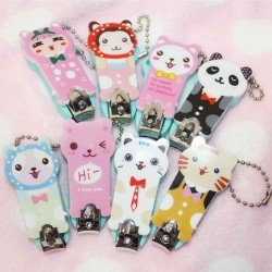 Coupe-ongles kawaii animal