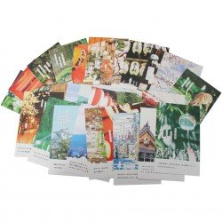 Lot de 5 cartes postales - Kyoto