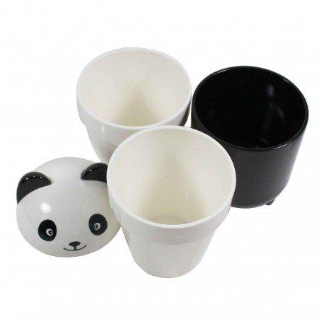 Set de tasses kawaii panda