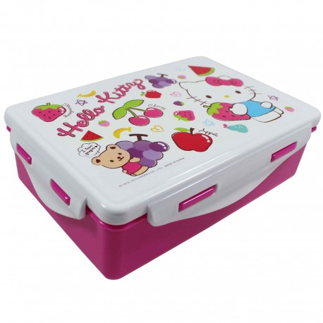 boite à bento rectangulaire SANRIO HELLO KITTY fruits