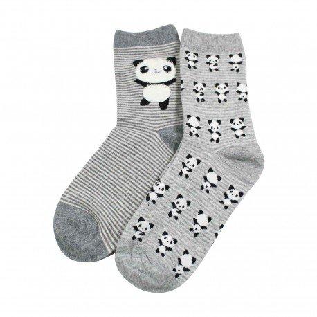 Chaussettes kawaii panda