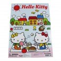Cahier coloriage kawaii HELLO KITTY