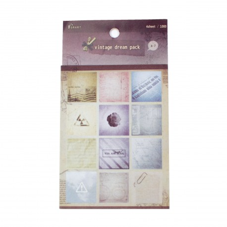 Sticker - Vintage dream 1