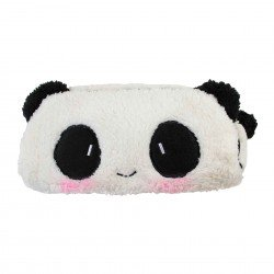 Trousse kawaii panda timide