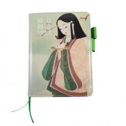 Carnet Fille en kimono