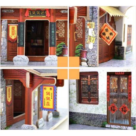 Puzzle 3D en bois - Boutique de tissus chinoise