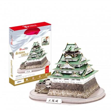 Puzzle 3D Château Japonais Osaka Jo