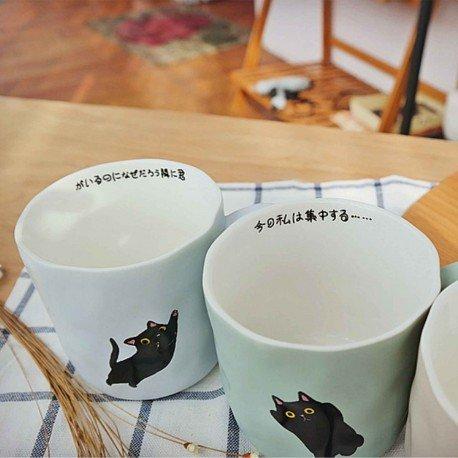 Tasse chat japonais