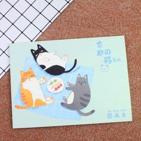 Carnet de croquis Kyoto Neko