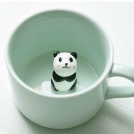 Tasse à café Panda 3D