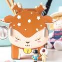 Pot à crayons rangement Cerf Sika kawaii