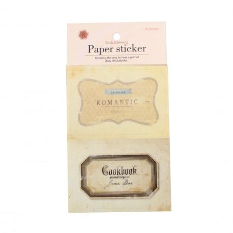 Sticker - Etiquettes