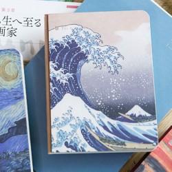 Carnet la grande vague de Kanagawa
