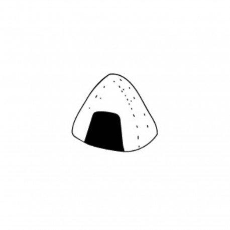 Tampon en bois Onigiri