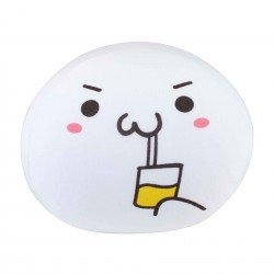 Coussin boule mochi anti-stresse kawaii emoji 9 Boisson