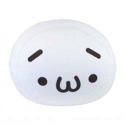 Coussin boule mochi anti-stresse kawaii emoji 4 Triste