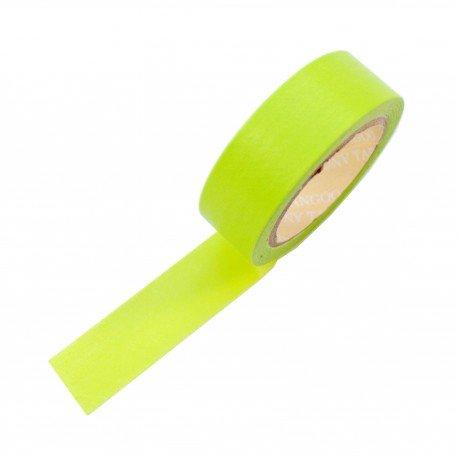 Masking tape couleur vert claire