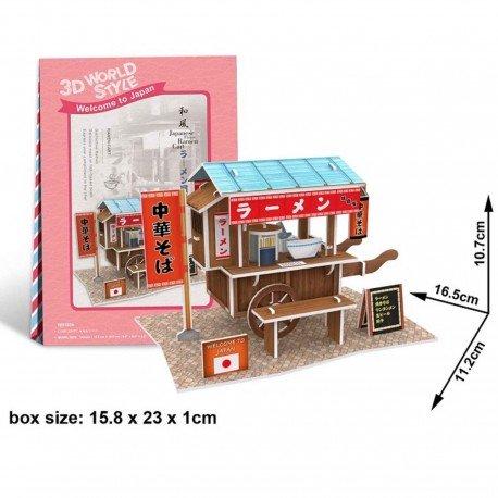Puzzle 3D Ramen shop mobile