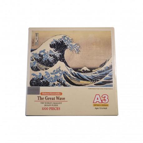 Puzzle la grande vague de kanagawa
