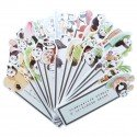 Marque pages Panda gourmand