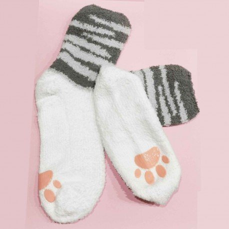 Chaussette cocooning Chat